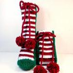 Christmas Slippers Crochet..