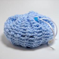 Soap Saver Scrubby in Blue